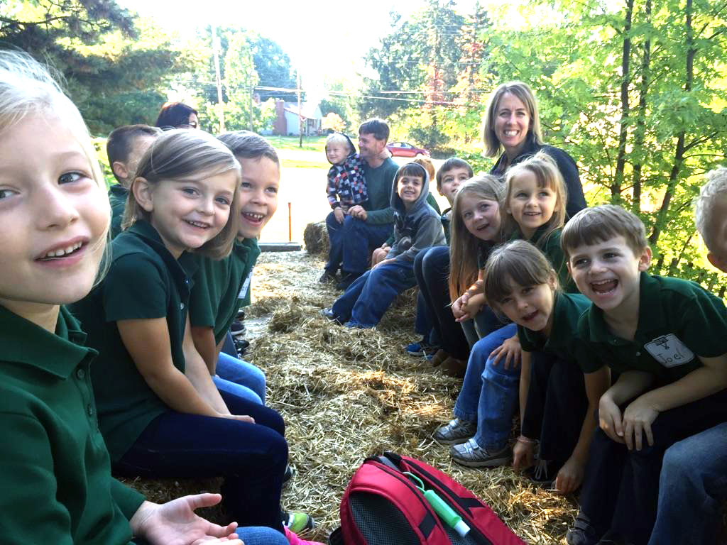 Kindergarten Hay Ride