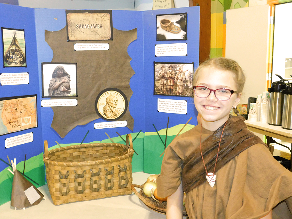 3rd Grade Wax Museum - Sacagawea