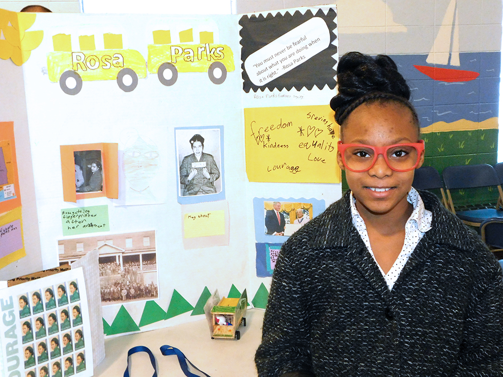 3rd Grade Wax Museum - Rosa Parks