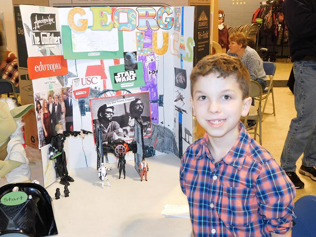 3rd Grade Wax Museum - George Lucas