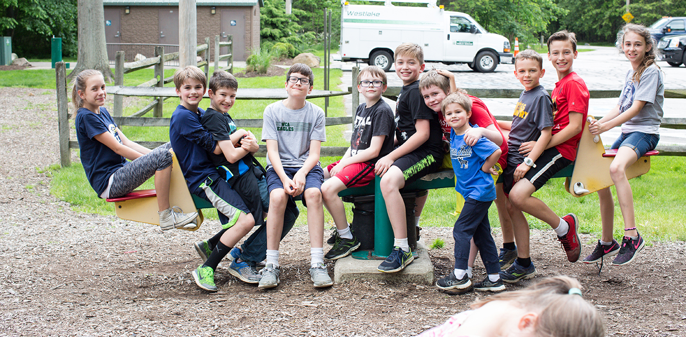 Fifth Grade Year End Class Picnic