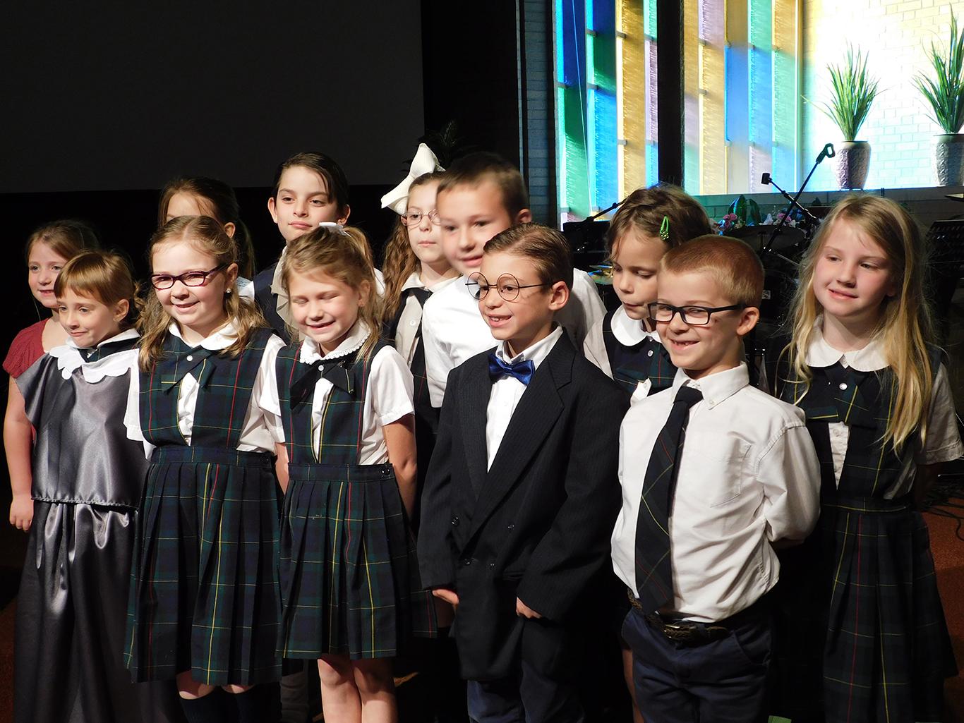 First Grade Chapel