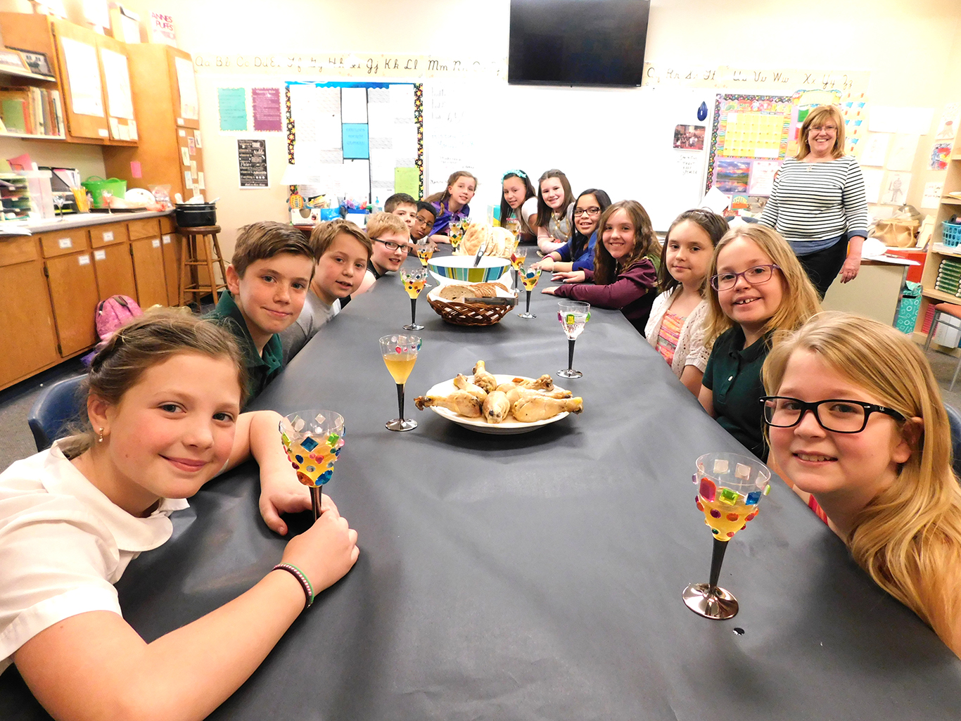 Fourth Grade Viking Party