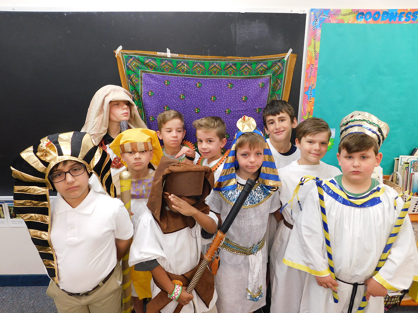 Second Grade Egyptian Unit Party