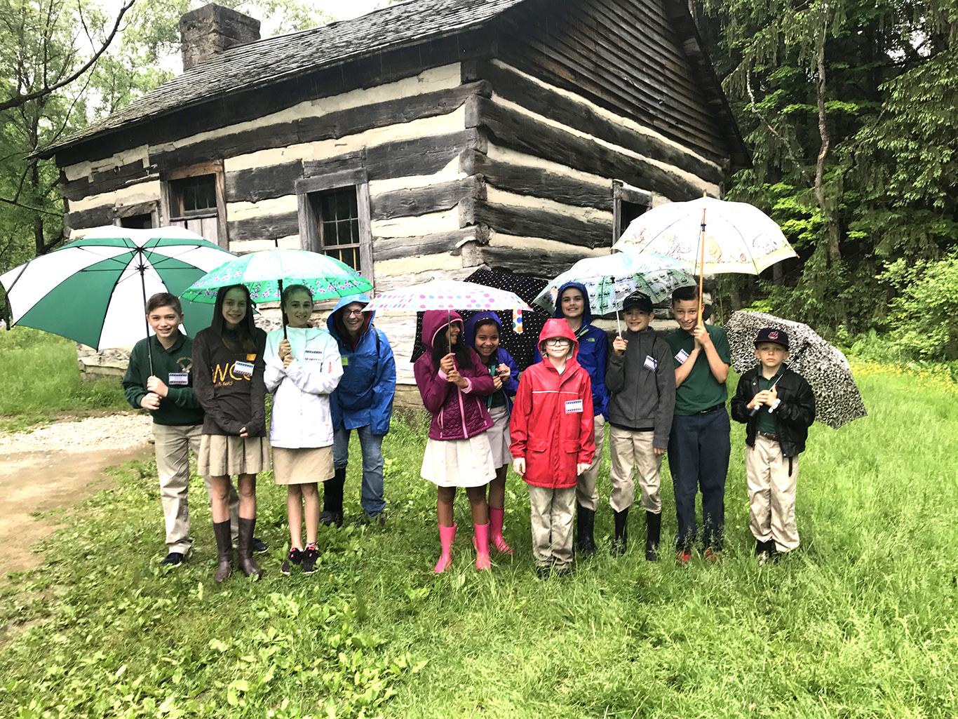 Fifth Grade Field Trip to Hale Farm