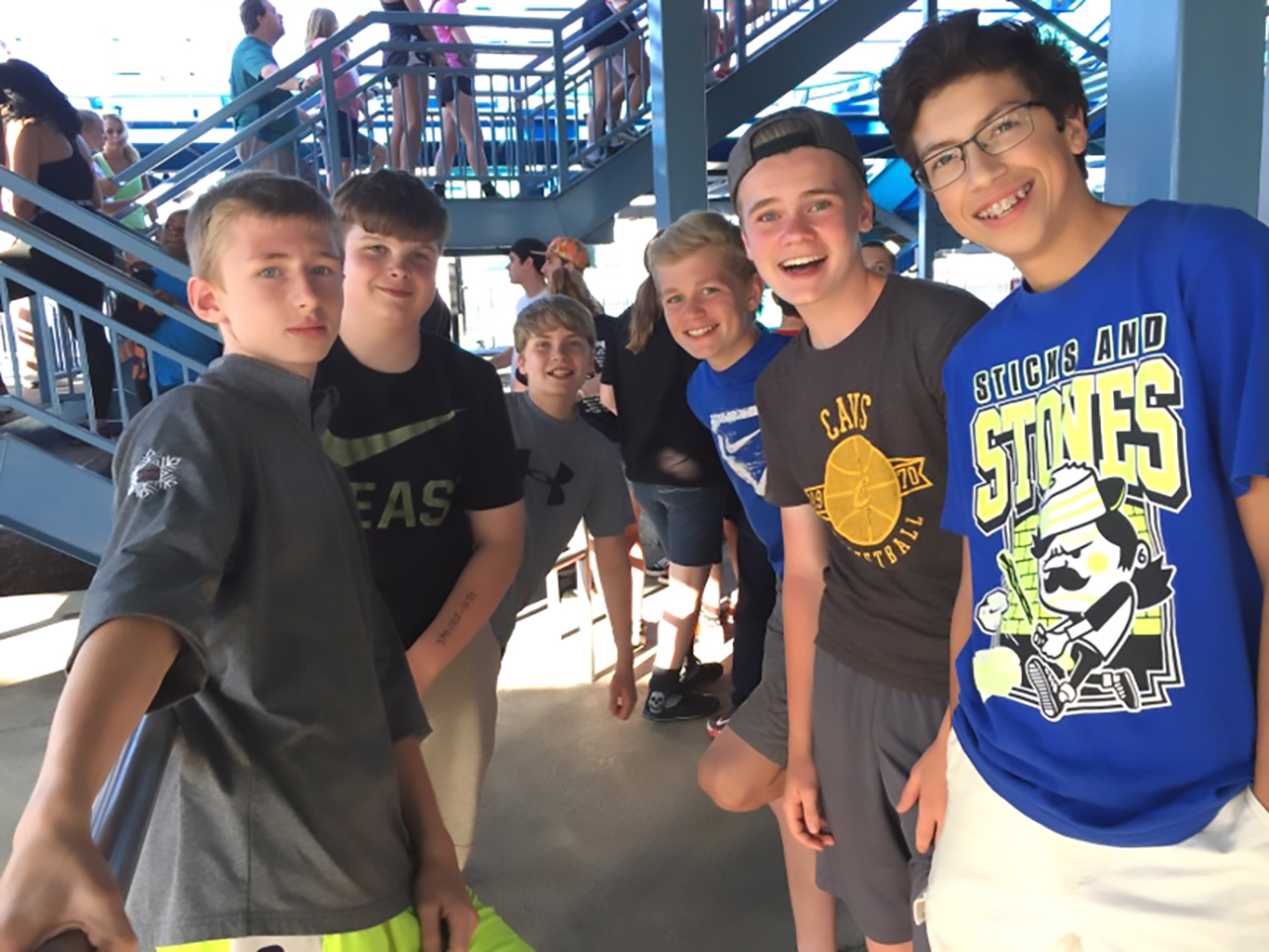 Upper School Cedar Point Trip