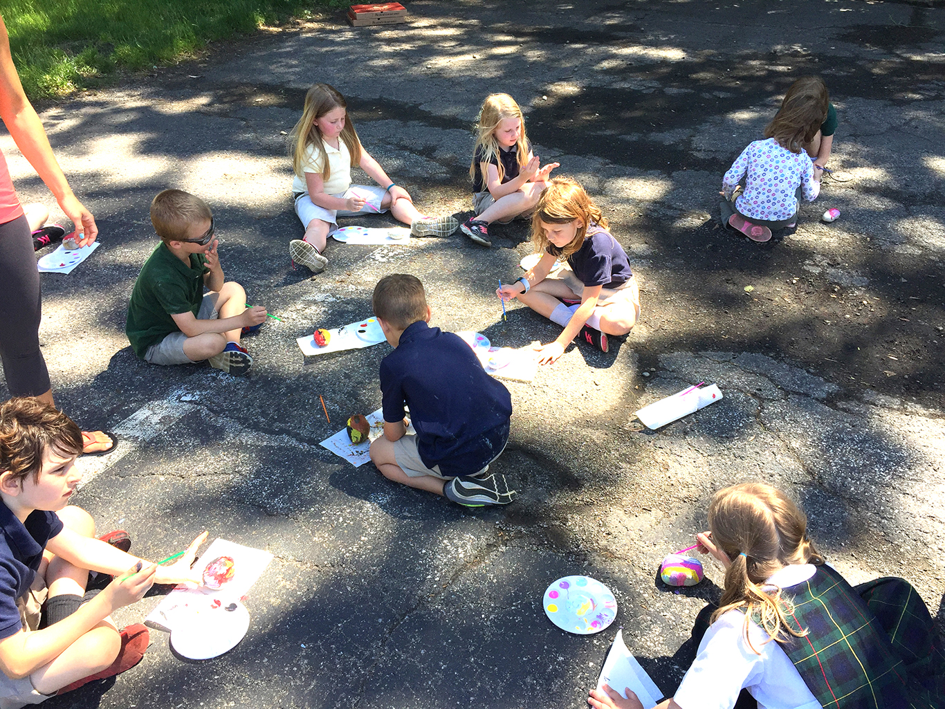 First Grade Year End Class Picnic