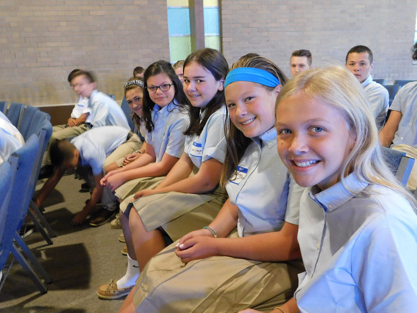 Welcome Back New Upper School Students!