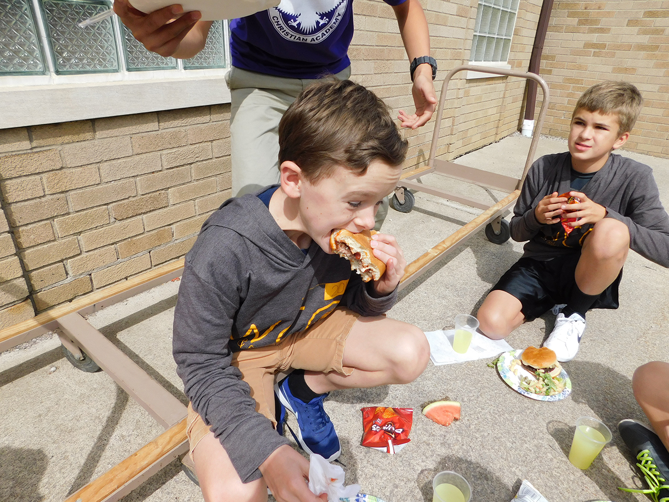 Upper School Fall Harvest Lunch