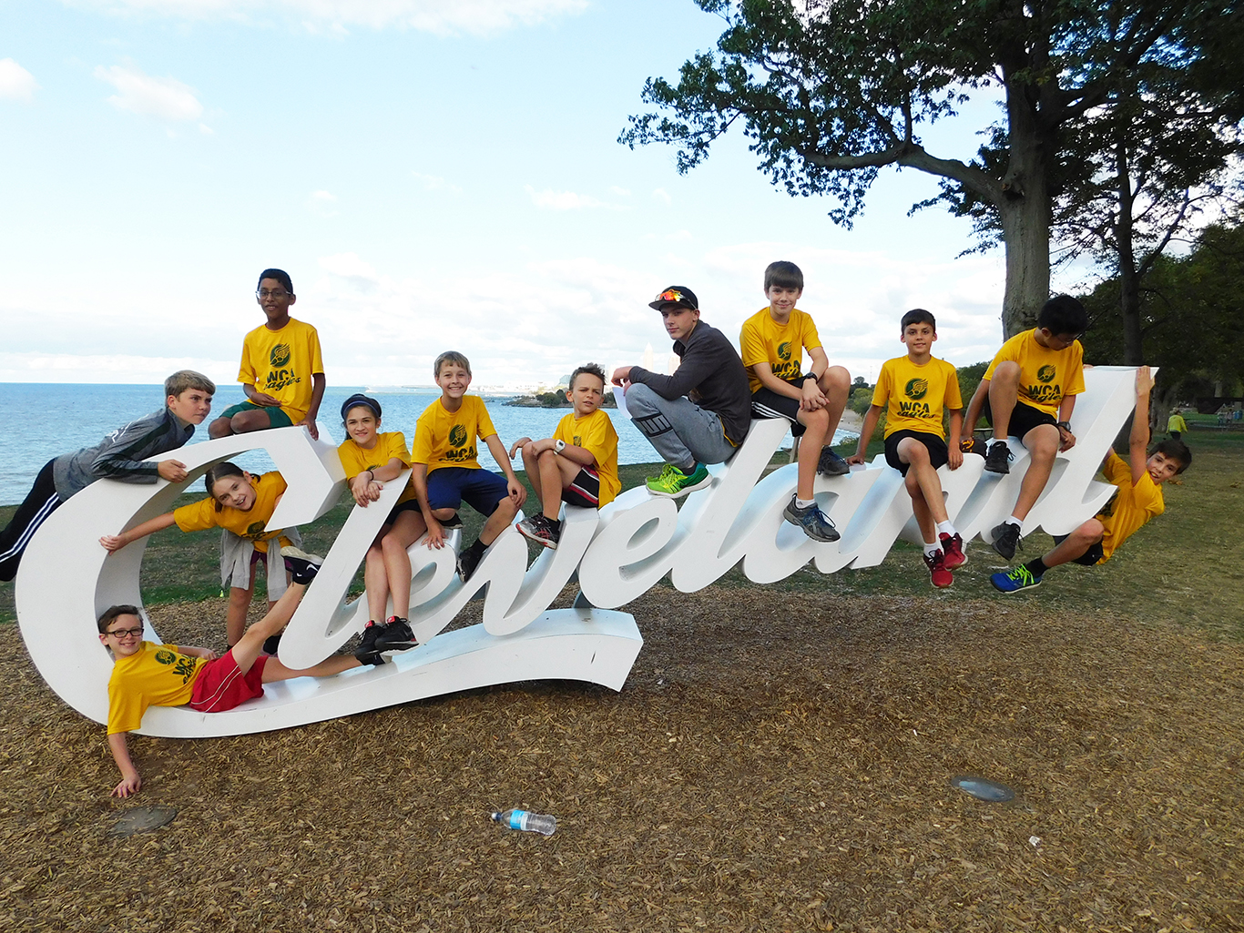Cross Country Team at Edgewater Park