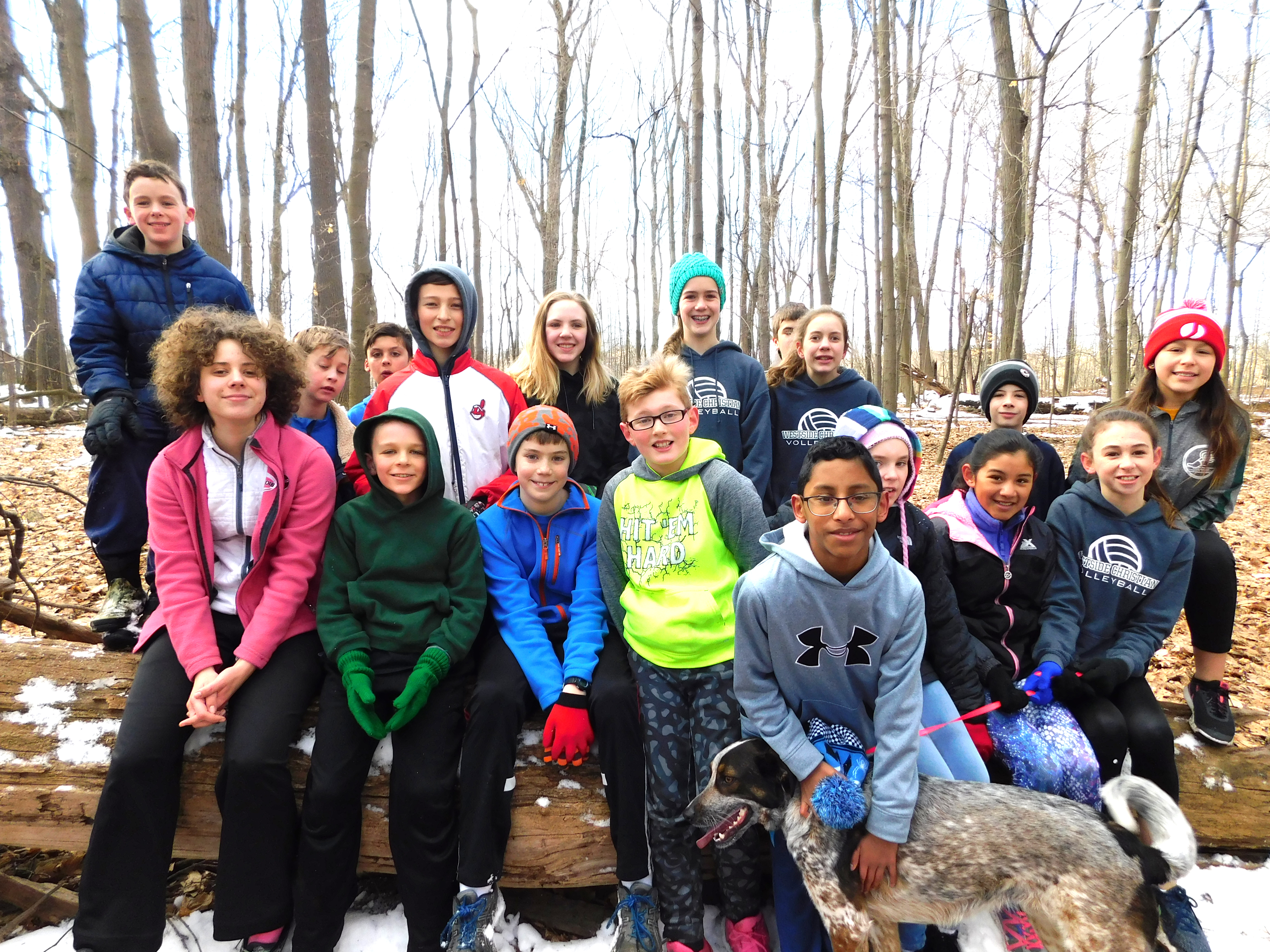 Track Team in Metroparks