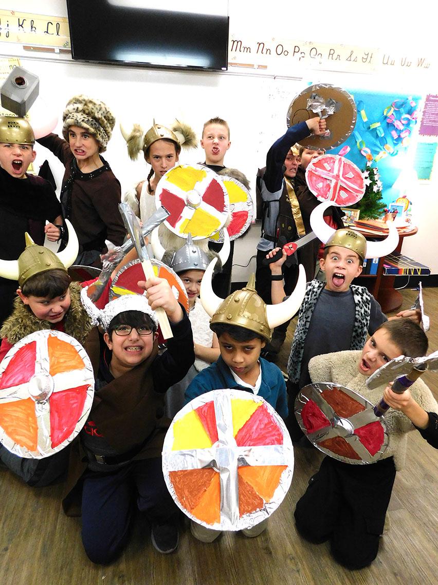 Fourth Grade Vikings!