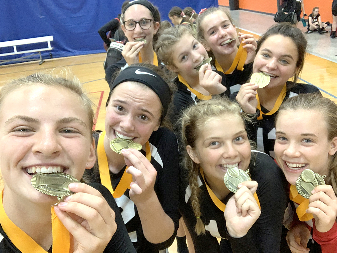 HS HEARTS Volleyball Team