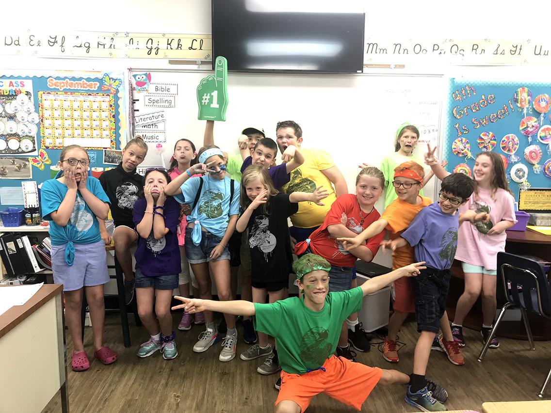 Fourth Grade Field Day
